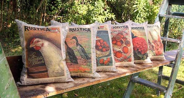 Rustica 6 Cushions