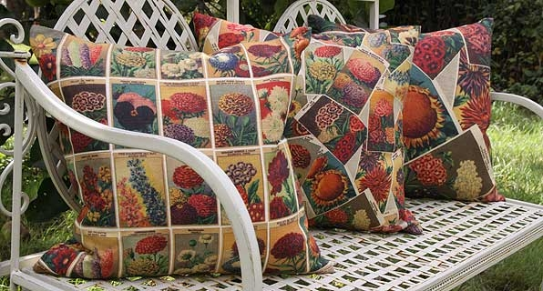 Seed Packet Cushions