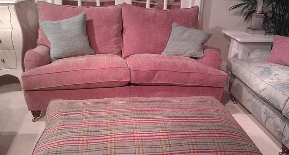Stratum Sofa with Willerby Footstool