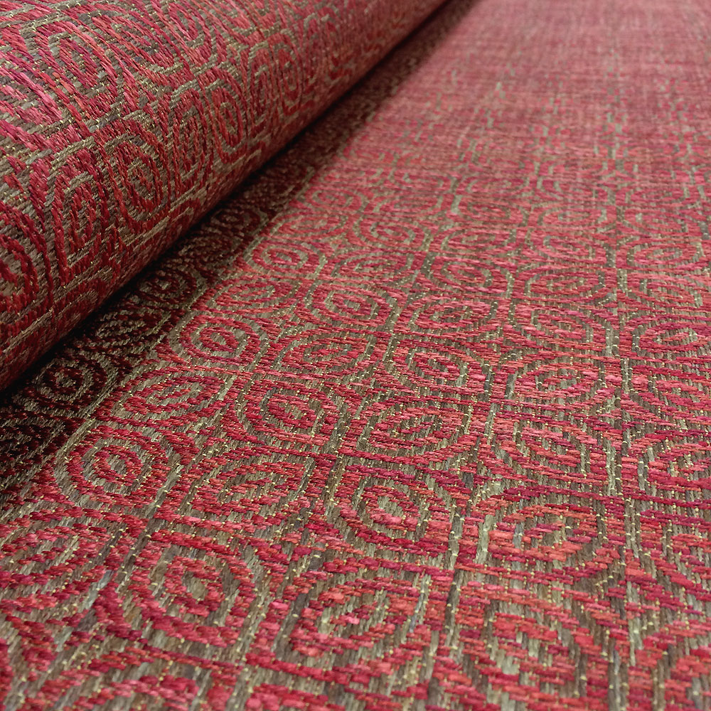 Ace Rug Red Ian Sanderson Upholstery And Curtain Fabrics
