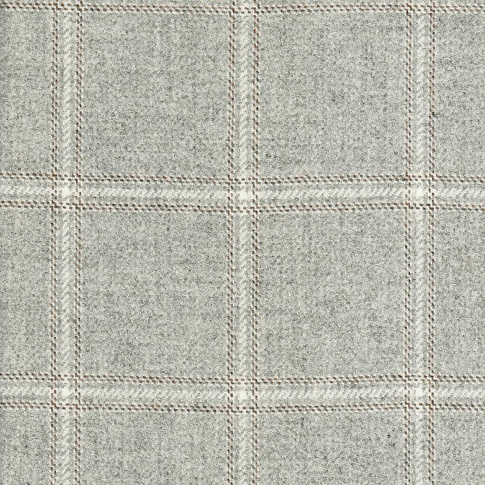Highcross Check Marl Grey Ian Sanderson Upholstery And