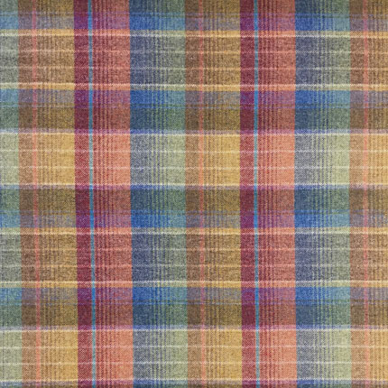 Cossack Plaid - Blue Moss
