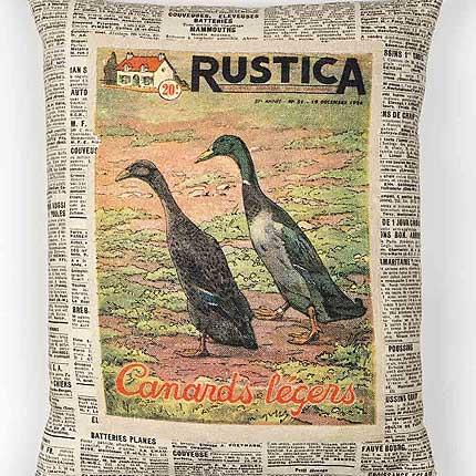 Ducks Vintage Cushion