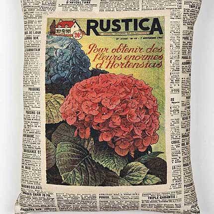 Hydrangea Vintage Cushion