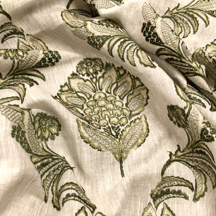 Pasha Embroidery<br>Olive