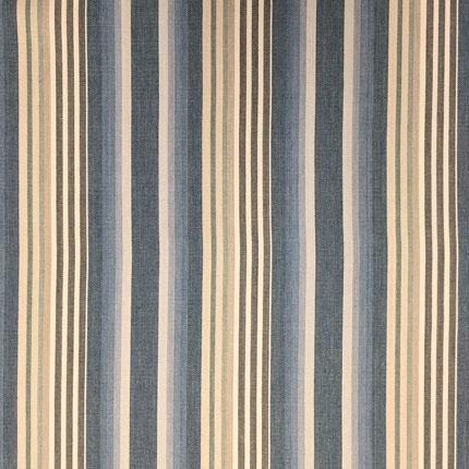 Quay Stripe<br>Sandstone Blue