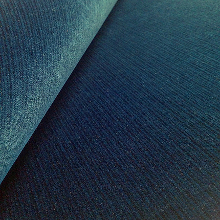 Riffle Vintage Velvet<br>Ink Blue