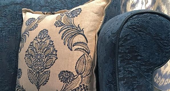 Cushion in Royal Blue