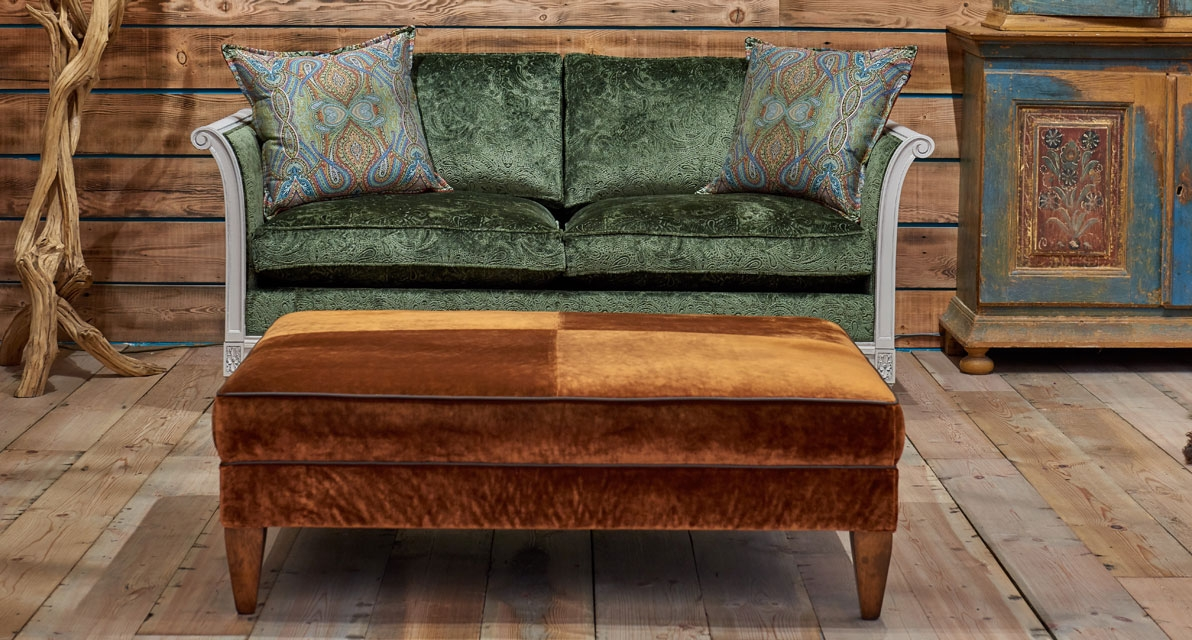 Skirmish Dark Olive Sofa