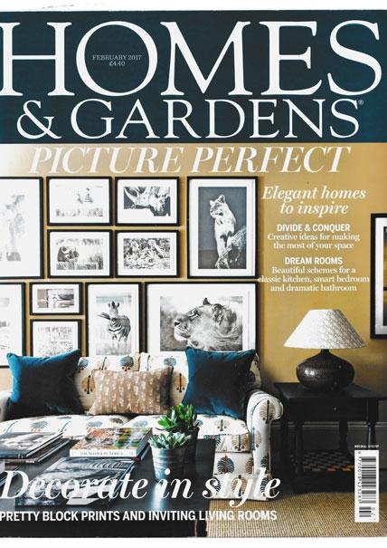 Homes & Gardens Feb 2017