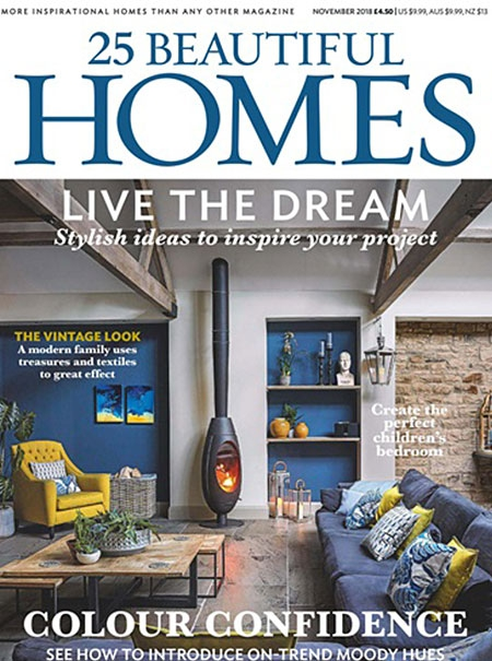 25 Beautiful Homes Nov 2018